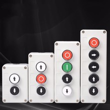 Stop It Button Switch Control Box Industry Identification Symbol Since Reset Round Emergency Power Failure Cargo