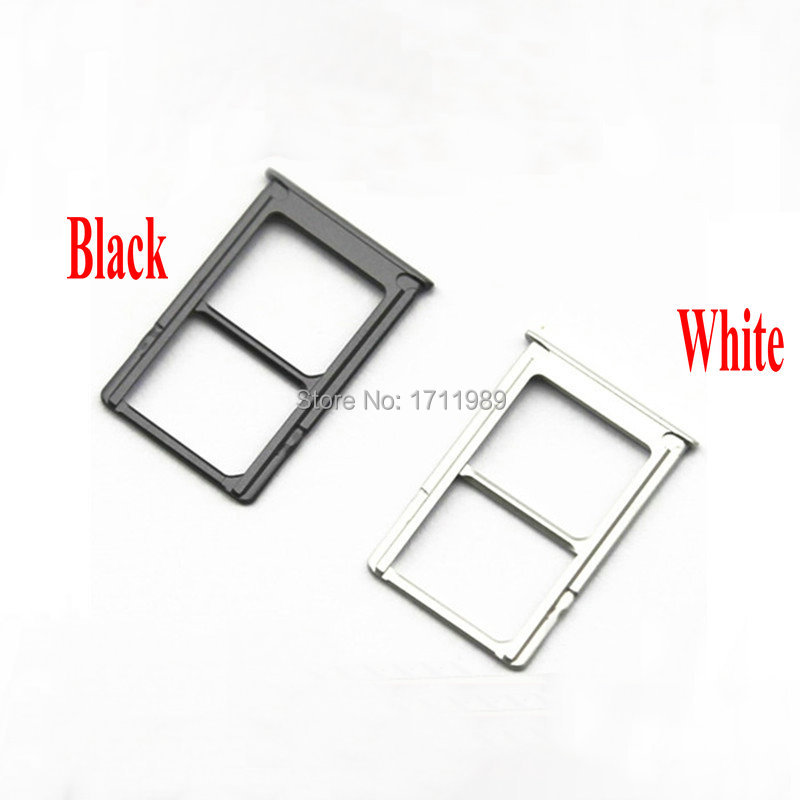 SIM Card Holder Slot Tray For Xiaomi 5 M5 Mi5 Replacement Socket Reader Repair Parts Black, White Free Shipping + Tracking Cord