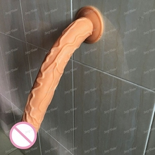 Hot Sale 13.7 inch Silicone Big Dildo Realistic Penis with Strong Suction Cup Sex Toys for Woman Dick Sex Products