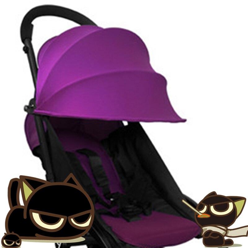 Textile stroller PRAM BABY YOYA STROLLER REPLACE CANOPY MAT BIG HOOD WATERPROOF OXFORD Peekaboo YOYA yuya