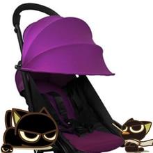 Textile stroller PRAM BABY YOYA STROLLER REPLACE CANOPY MAT BIG HOOD WATERPROOF OXFORD Peekaboo YOYA yuya stroller poussette