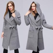New winter mink cashmere coat mink cashmere sweater coat female double-sided pure mink cashmere 013