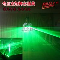 Free Shipping Green Light LED Laser Gloves Plane Light Effect Dancing Stage Show DJ Club Party Disco Show Stage 4/5 Laser Head