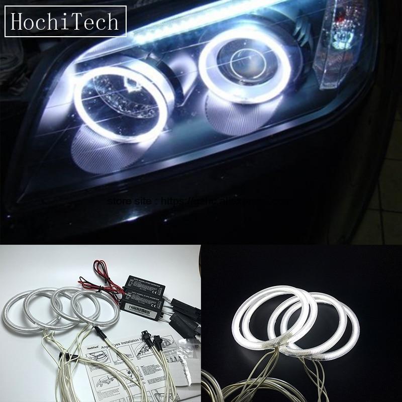 HochiTech For Chevrolet CAPTIVA S3X 2006 - 2011 Ultra Bright Day Light DRL CCFL Angel Eyes Demon Eyes Kit Warm White Halo Ring