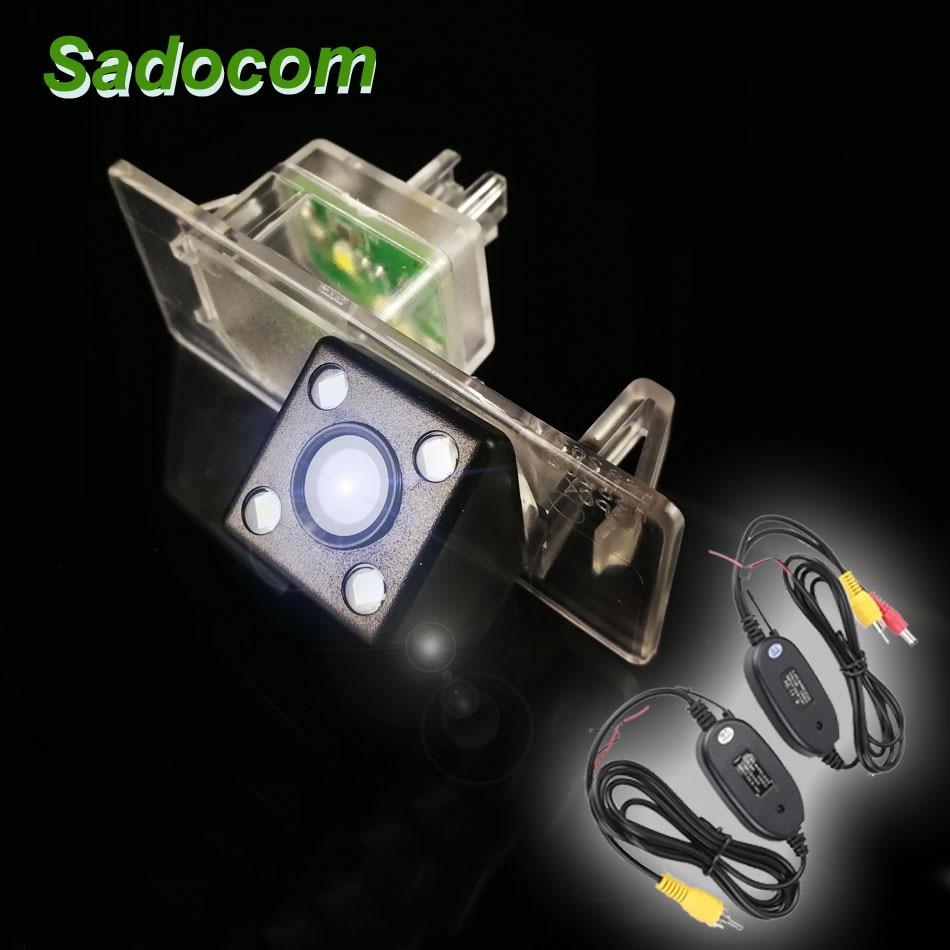 CCD HD 4 LED Camera Back Sight 170° For Audi A1 A3 A4L A6L A7 Q3 Q5 RS5