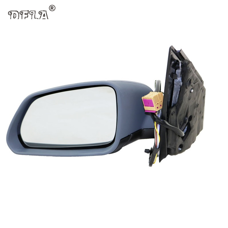 For VW Polo 2005 2006 2007 2008 2009 2010 Car-Styling Heated Electric Wing Side Rear Mirror Left Driver Side red left right car rear side tail light brake lamp light for toyota hilux 2005 2006 2007 2008 2009 2010 2015 lh rh