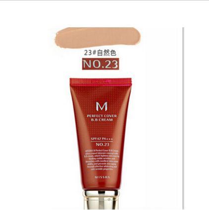 Missha M идеальный чехол BB крем#21 или#23 SPF42 Pa+++ 50 мл корейская косметика основа для макияжа CC отбеливающие кремы оригинальная посылка - Цвет: 23