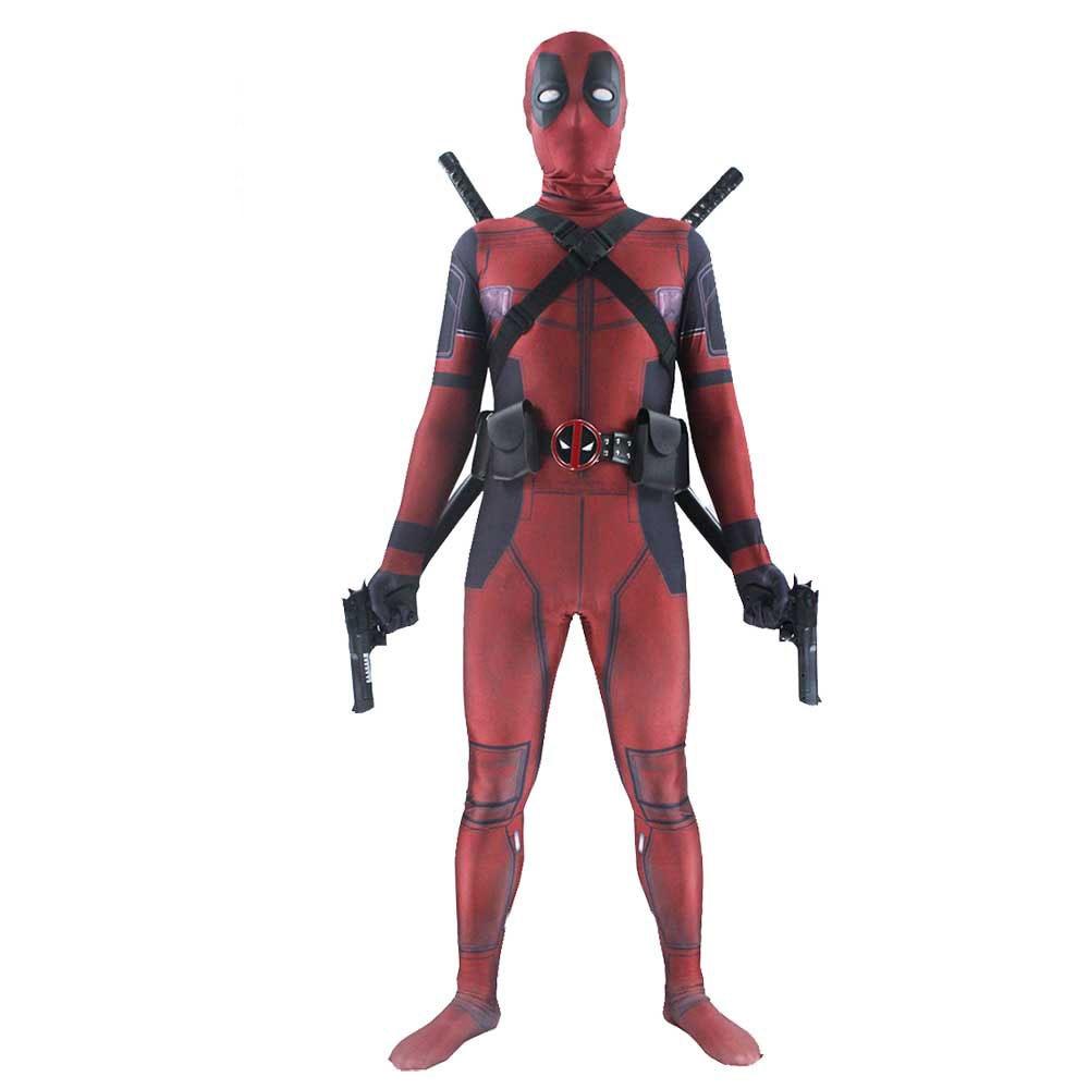 Ainiel Deadpool Cosplay Costume Deadpool Salopette Adulte Wade Wilson Spandex  Lycra Zentai Body Pour homme et Femme dans Costumes de TV   de film pour ... 2e67f77bd8b