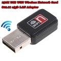 2 шт./лот USB 150 Мбит беспроводной wi-fi-маршрутизатор USB 150 м сетевой карты 802.11 п / g / b