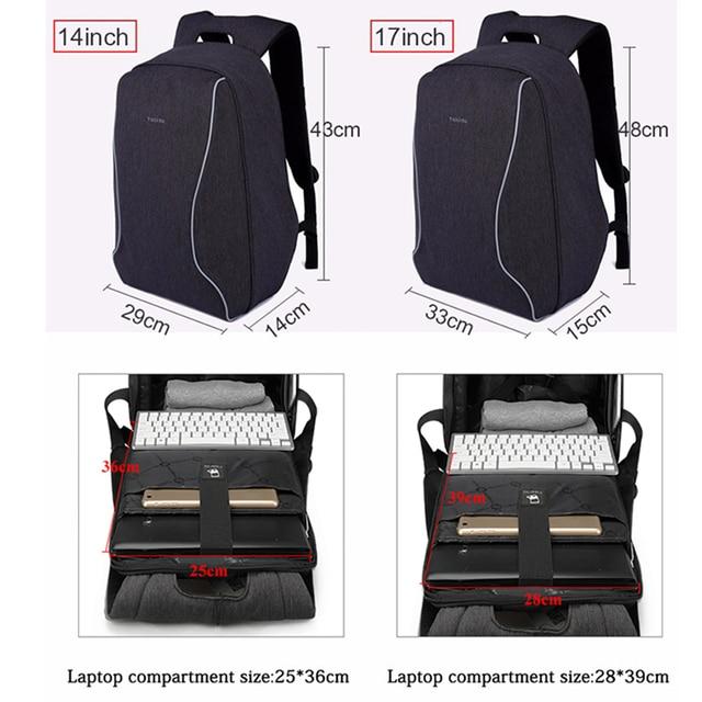 Tigernu Brand Anti Theft Design Men Backpack Notebook Backpack Women 14 15.6 Inch Backpack Leisure Travel Mochila Feminina 3
