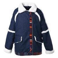 Winter jacket Women's Warm Parka Coat embroidery Denim Parka Winter Women jacket Coats Winter Coat Parkas Winter jacket Women's