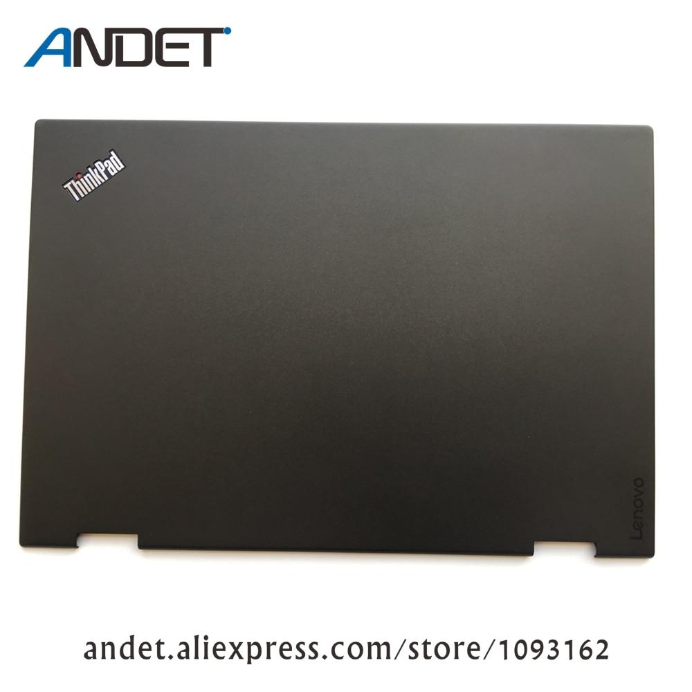 New Original Lenovo ThinkPad X1 Yoga 1st 20FQ 20FR LCD Cover Rear Lid Back Case 460