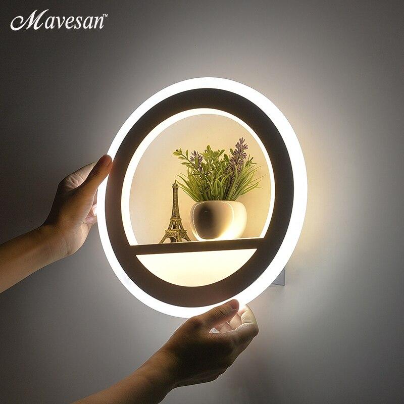 Modern LED wall lamps for bedroom bedside Lights LED Nordic designer living room sconce Light AC85-265V Indoor Lighting