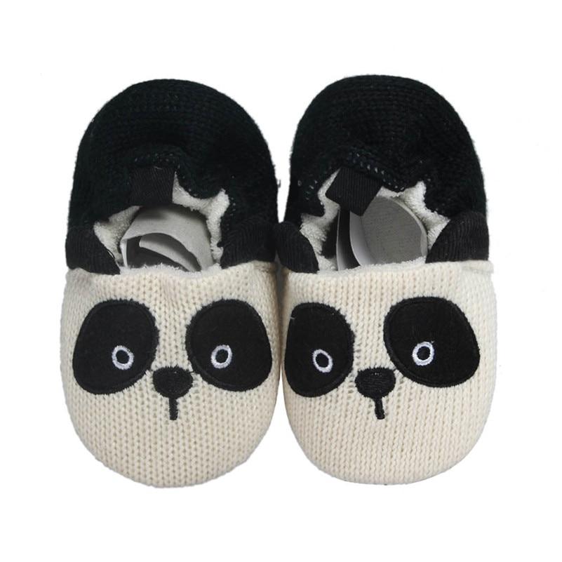 2018 Latest Mode  Baby Girls Boys Indoor Soft Bottom Non-slip Toddler Cute Panda Shoes 11cm  Footwear For Boy Girls Newborns #Q1