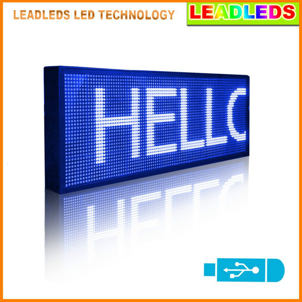 30inch led sign indoor Programmable Scrolling Message led display Board for Business and Store30inch led sign indoor Programmable Scrolling Message led display Board for Business and Store