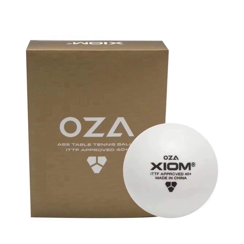 XIOM OZA 3-Star Table Tennis Balls (With Seam, ABS 40+) Plastic Ping Pong Balls ITTF Approved