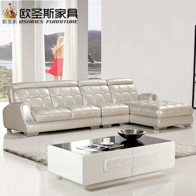 sofa cow set blogdelfreelance leather room corner sale living genuine real sectional couch com