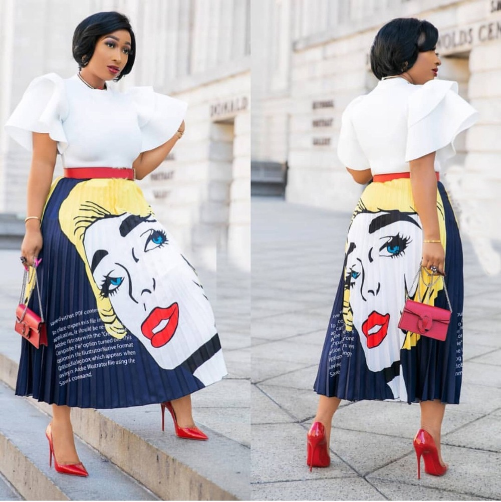 Skirts Only 2colors 2019 New Fashion Gorgeous Beauty