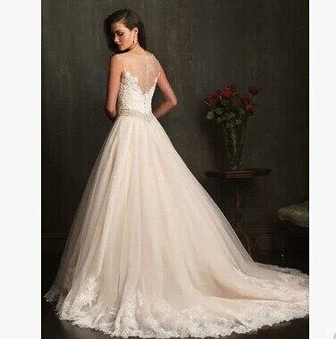 Summer 2016 wedding dress fashion royal tube top diamante bridal ...