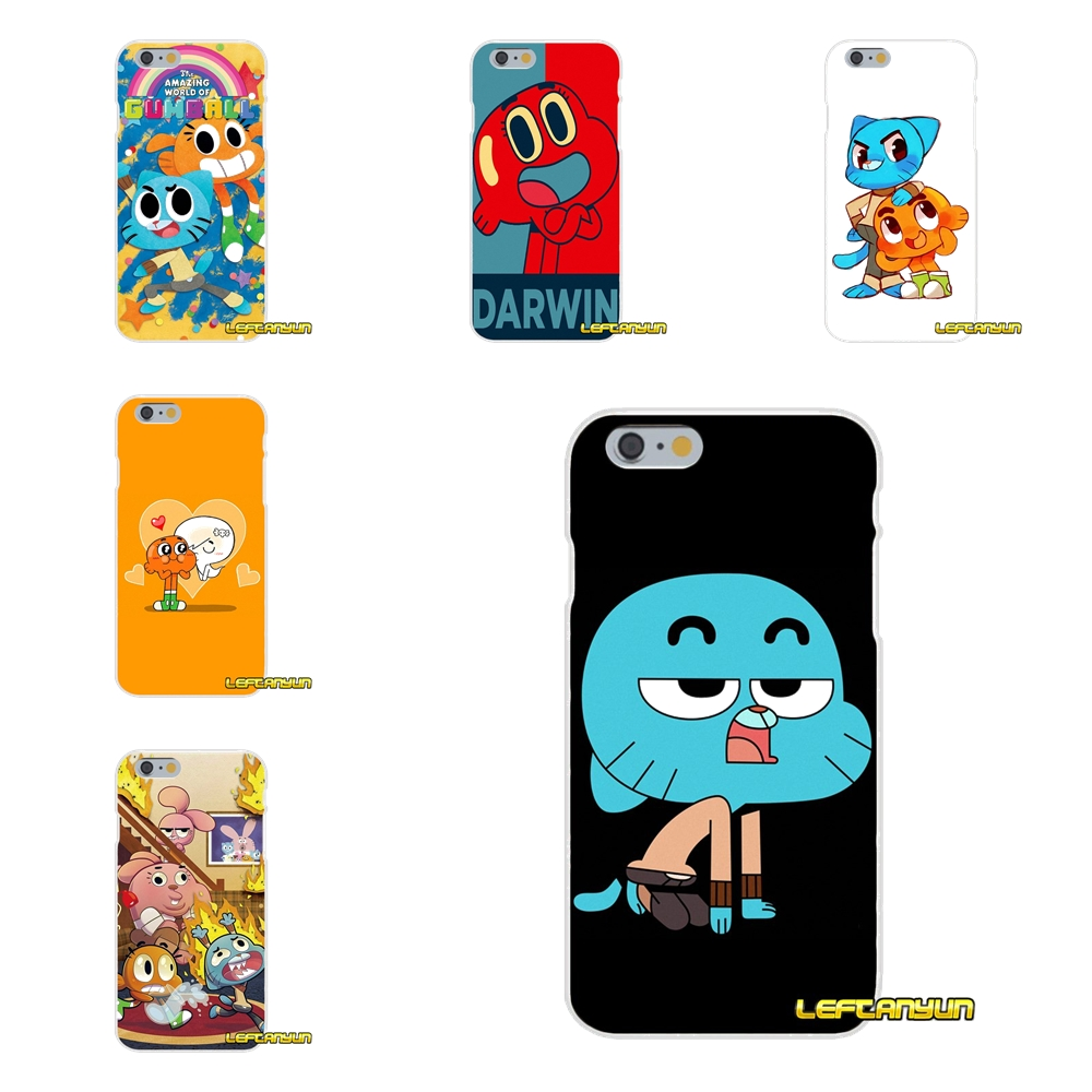 The Amazing World of Gumball Darwin iphone case