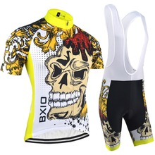 BXIO 2016 Hot Selling Team Cycling Jersey Professional Bike Cycle Clothing Outdoor Sport Jerseys Maillot Ciclismo BX-0209F074
