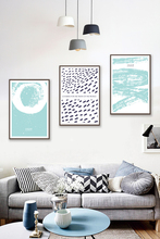 3 Pieces Nordic Wall Art Canvas Print Painting Abstract Picture On Pictures for living room Bedroom Home Decor