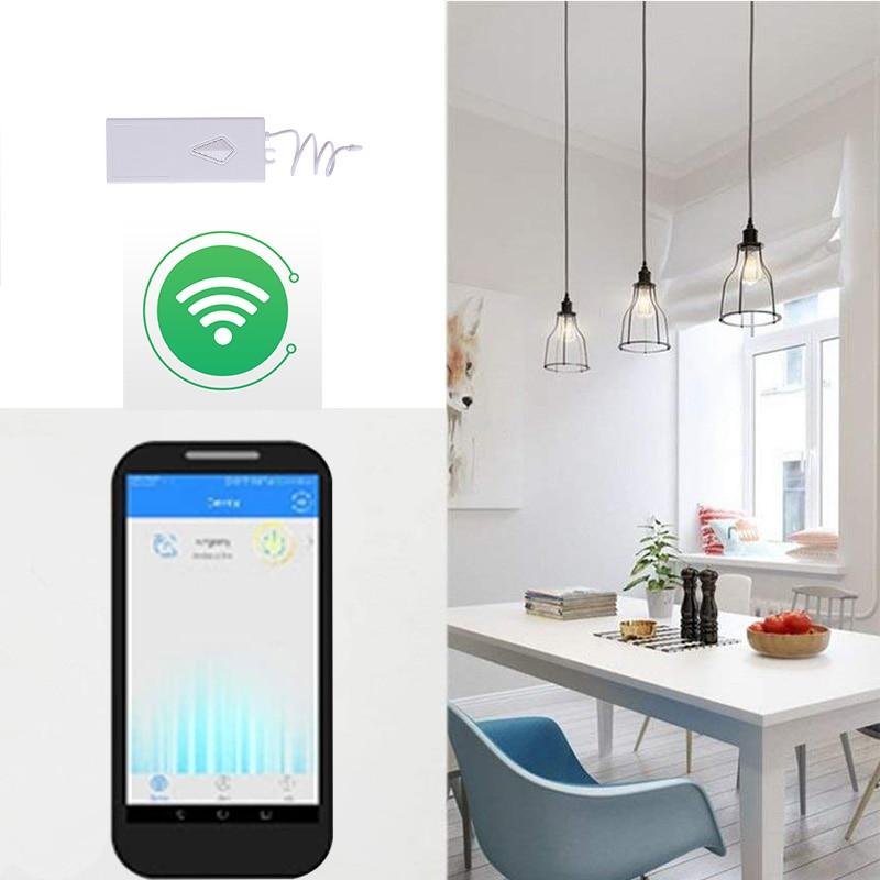 2 pièces Smernit commutateur intelligent sans fil Wifi commutateur 220 v APP télécommande récepteur Smart Home minuterie universel Wifi interrupteur de lumière