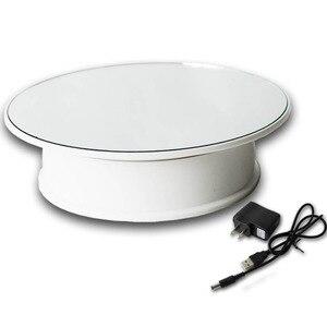 Новейшая вращающаяся подставка на зеркале 8 дюймов с поворотным дисплеем на 360 градусов, основание для вращающегося дисплея ювелирных издел...