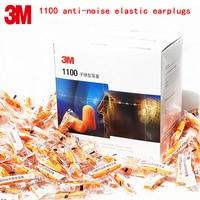 3M 1100 Noise Earplugs Genuine Security 3M Protectores Auditivos Sponge Soundproof Earplugs 3 Kinds Of Sales