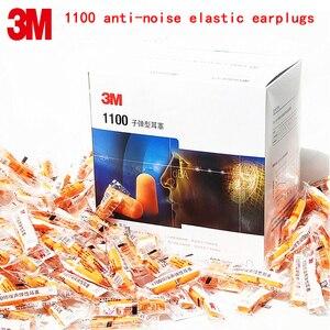 Image 1 - 3m 1100 ضجيج سدادات أمان حقيقية 3m حامي صوتي إسفنجي عازل للصوت سدادات 3 أنواع من طرق المبيعات