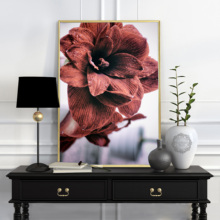 цены Cuadros Decoracion Salon Flowers Peony Posters and Prints Wall Pop Art Print Canvas Painting Plant Wall Pictures For Living Room