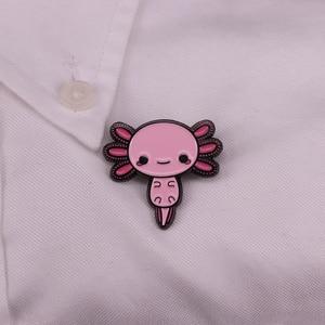 Image 3 - Axolotl Dello Smalto Spille Distintivo