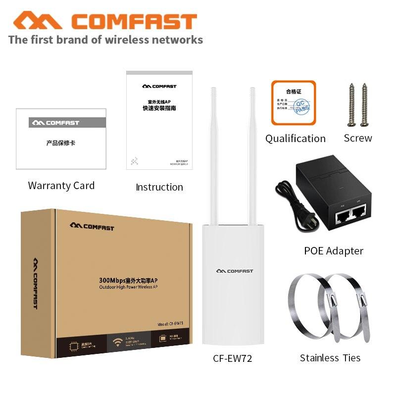 Comfast CF-EW72 1200Mbs gigabit extérieur sans fil AP routeur 802.11AC double-bande WIFI répéteur antenne pont wi-fi point d'accès AP