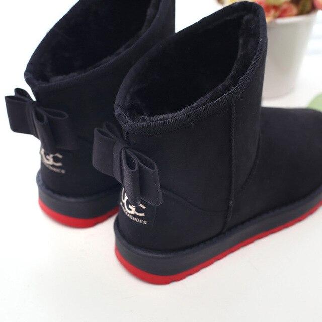 2016 новое прибытие моды лодыжки зимние ботинки женщин боути обувь Женская повседневная обувь