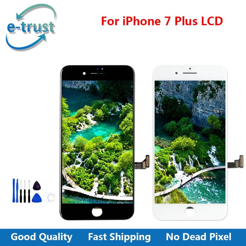imágenes para La confianza electrónica Grado AAA + Pantalla LCD Para el iphone 7 Plus Con buena Pantalla Táctil 3D Reemplazo Del Digitizador Assembly + Herramientas + Free gratis