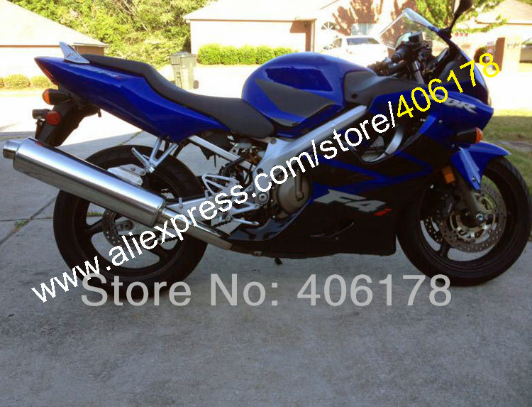 Hot Sales,For Honda CBR600F4i 2004 2005 2006 2007 CBR600 F4i 04 05 06 07 CBR 600 600F4i Blue Fairings Kit (Injection molding) hot sales for honda cbr600f4i 2001 2002 2003 cbr600 f4i 01 03 cbr 600 f4i white dark blue motorcycle fairing injection molding