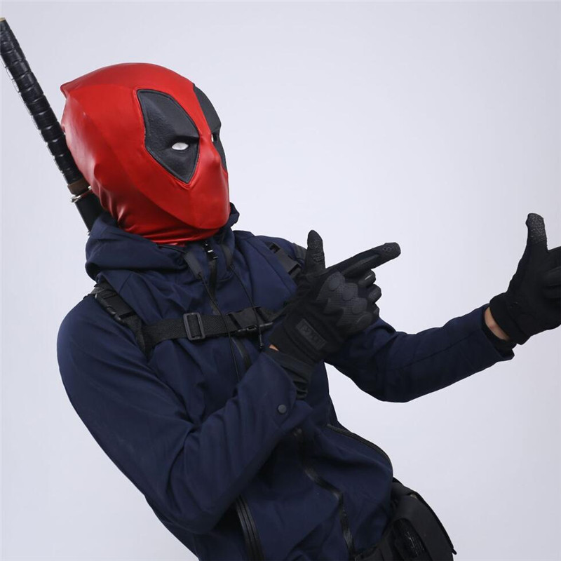 New Arrival Deadpool Masks Balaclava Deadpool Headgear Hood Full Face Mask Halloween X Men Halloween Costume