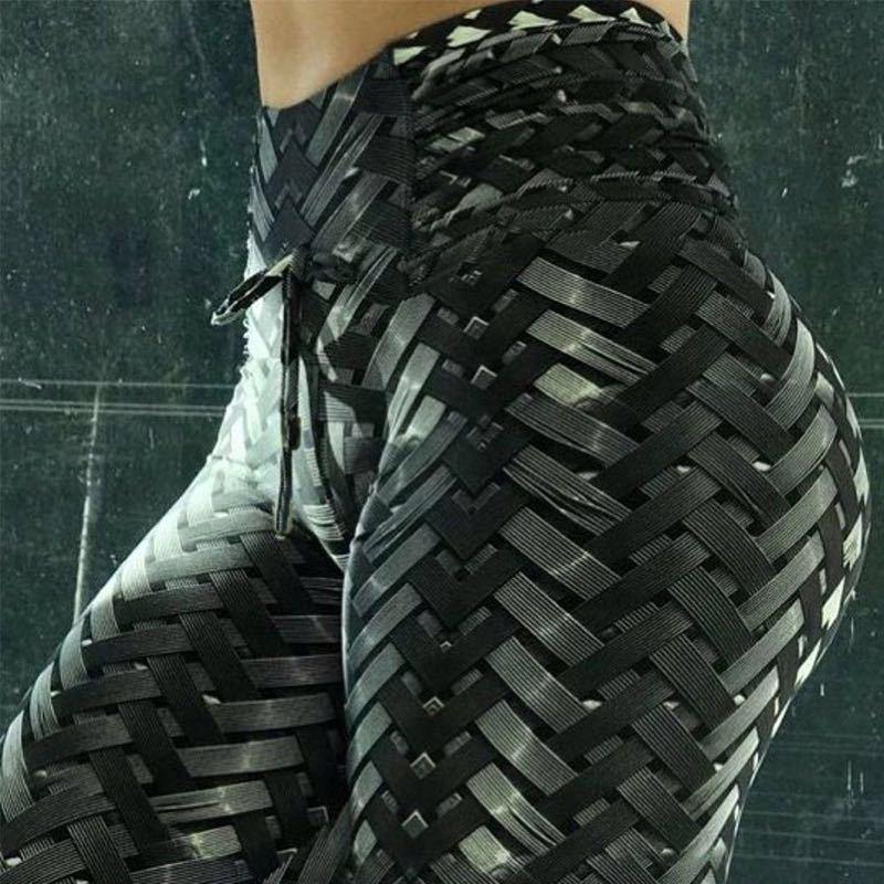 Derala Iron Armor Weave Printed   Leggings   Women High Waist Plus Size Leggins Push Up 3D Workout Elastic Bowknot Fitness Pants
