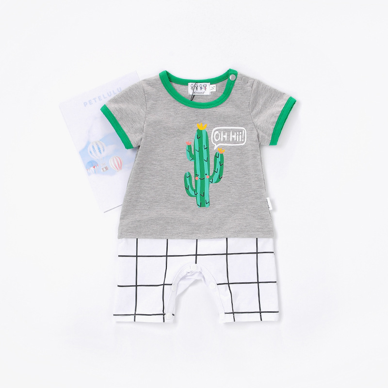 Baby Rompers Cactus Baby Clothes 2018 Spring New Born Jumpsuit Costumes Infant Clothing Boy Girl Romper Coveralls Baby Ropa Bebe newborn baby rompers cotton toddler long sleeve ropa bebe clothing infant girl jumpsuit new born baby boy romper baby costumes