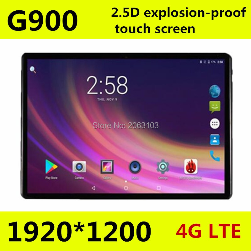 10.1 inch Tablet PC MTK8752 Octa Core Tablets 4GB RAM 64GB ROM Android 7.0 3G 4G 1920*1200 2.5D Screen Tablet 10.110.1 inch Tablet PC MTK8752 Octa Core Tablets 4GB RAM 64GB ROM Android 7.0 3G 4G 1920*1200 2.5D Screen Tablet 10.1