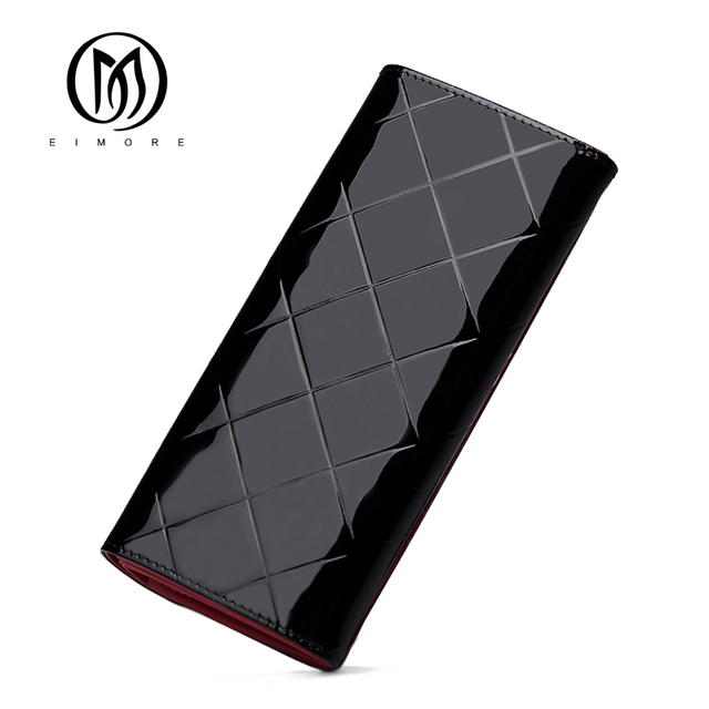 Leather Women Wallet Female Long Clutch Lady Walet Luxury Brand Money Bag For Girls Coin Purse 1