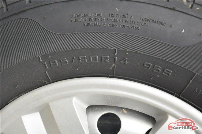 example for tire parameter