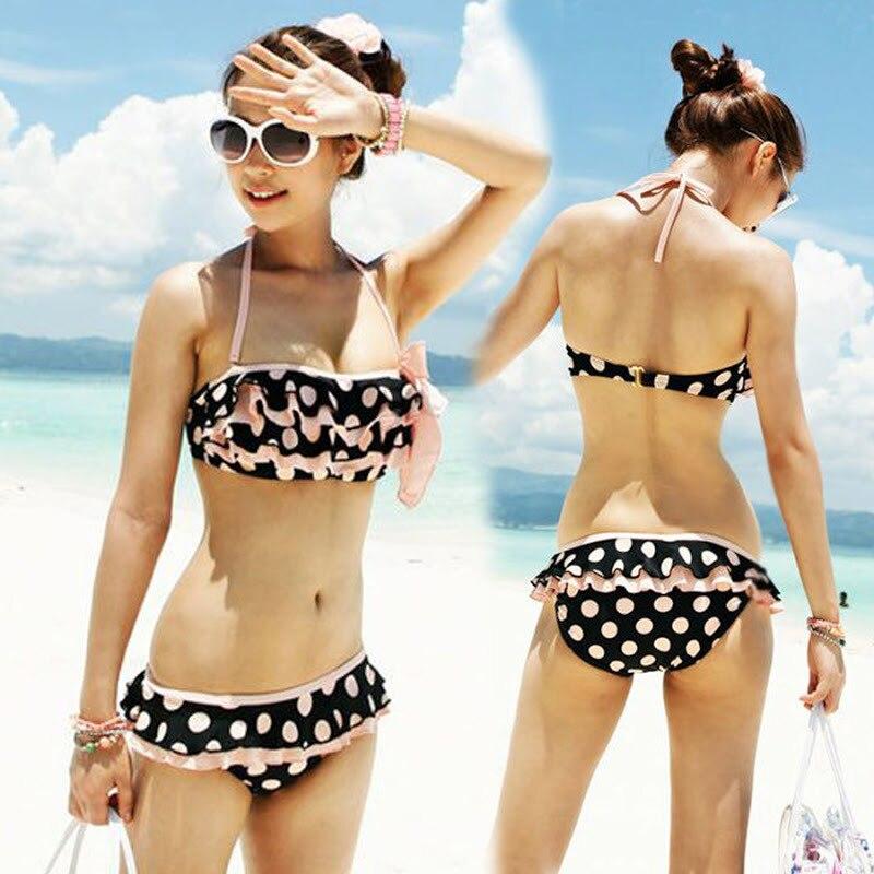 Girl short bikinis