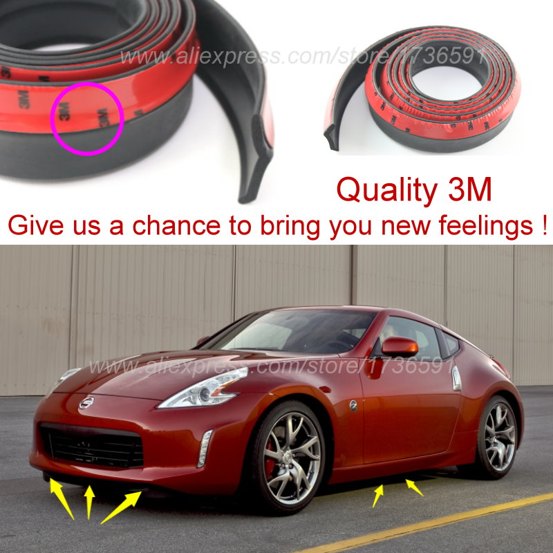Nissan Fairlady Z >> Us 31 67 30 Off Lyudmila Front Lip Deflector Lips Skirt For Nissan Fairlady Z 300zx Z31 Z32 Z33 Z34 Body Chassis Side Protection Spoiler Lip In