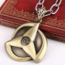 Naruto Cosplay Anime Alloy Sharingan Pendant