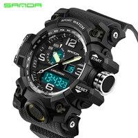 SANDA Military Sports Watch Men S Top Brand Luxury Famous Electronic LED Digital Watch Men Watch