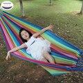 Портативный гамак 200*100 см  подвесная спальная кровать с парашютом  нейлоновая ткань  наружная  для кемпинга  гамаки  Двухместный  качели
