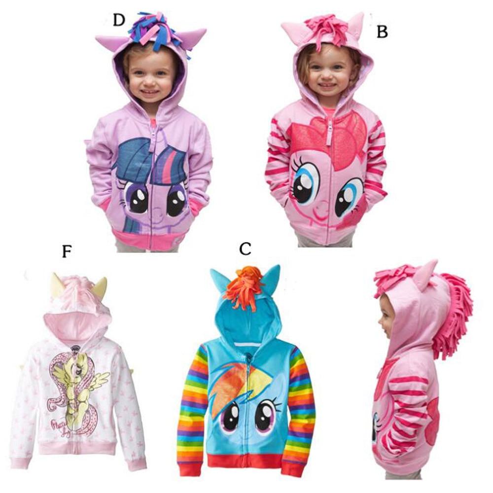 Mimixiong 2018 Meisjes Little Pony Big Girls Twilight Sparkle - Kinderkleding - Foto 3
