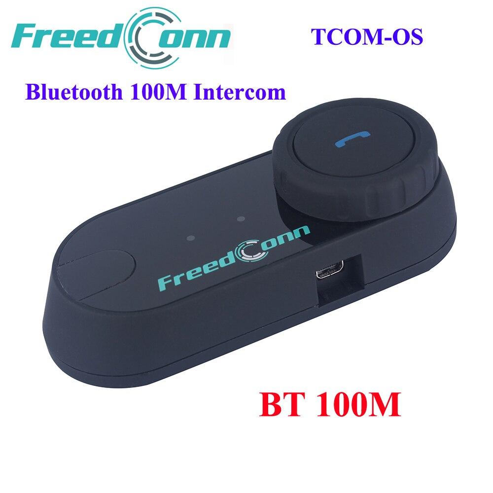 2018 New Version FreedConn TCOM OS 100m BT Bluetooth Motorcycle Helmet Intercom Interphone Headset Motorcycle Helmet