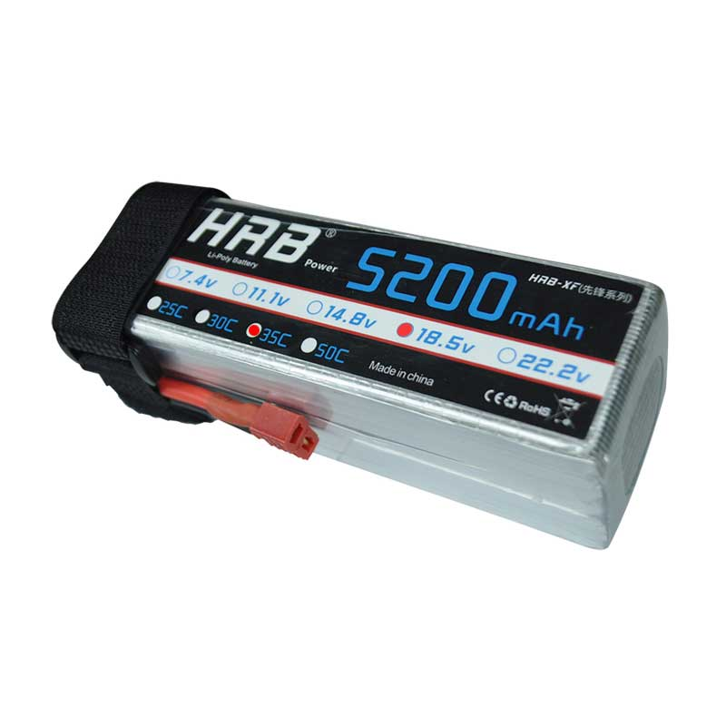 HRB RC Lipo 5S Battery 18.5V 5200mAh 35C Max 70C For Airplane Drone FPV Helicopter Car Boat Multicopter Quadcopter AKKU Bateria